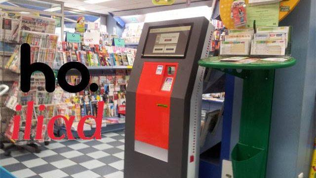 Iliad, Ho.Mobile e i distributori automatici di SIM