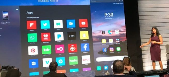 Microsoft Your Phone Mirroring Android