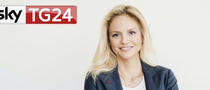 Sarah Varetto Sky Tg24